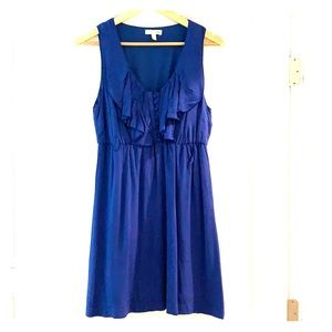 Gianni Bini- Dress with ruffled neckline